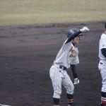 細野の三塁打