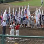 中学部・小学部の選手宣誓